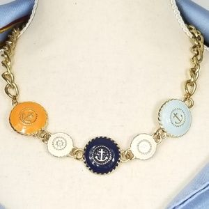 Adorable Nautical inspired necklace